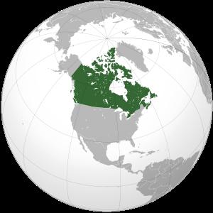 Канада канада на карте мира